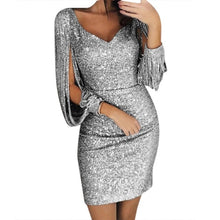 Load image into Gallery viewer, Sequin Sparkly Dress
