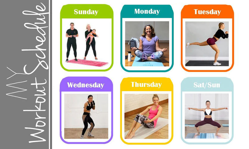 At-Home Monthly Calendar of Free Online Exercises, Meditations, Health & Fitness Workouts