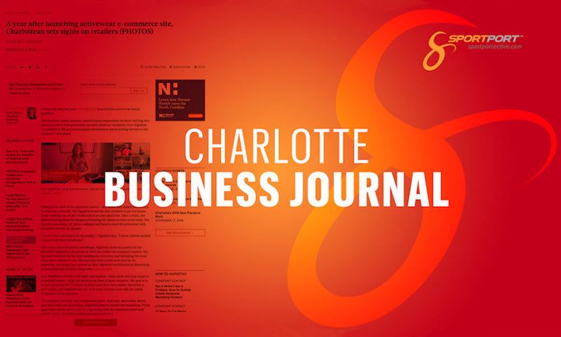 Charlotte Business Journal Interviews SportPort CEO, Kim Highfield