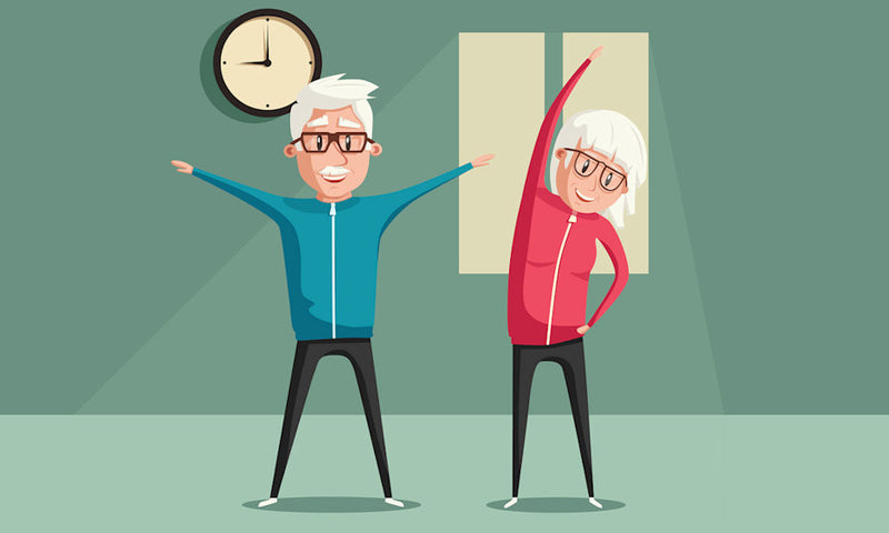 At-Home Activities & Exercises for Older Adults