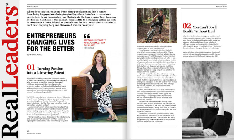 Real Leaders Magazine: Features SportPort Founder Kim Highfield
