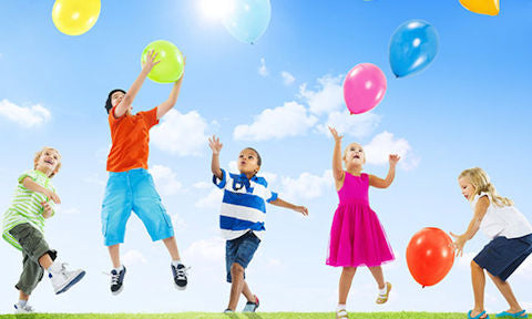 at-home activity exercise balloon games