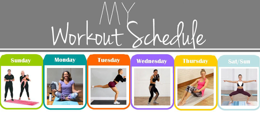 at-home exercise health fitness calendar from SportPort