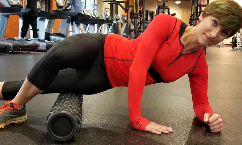 foam roller fitness stretch exercises