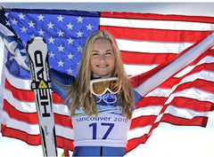history of women in sports lindsey vonn
