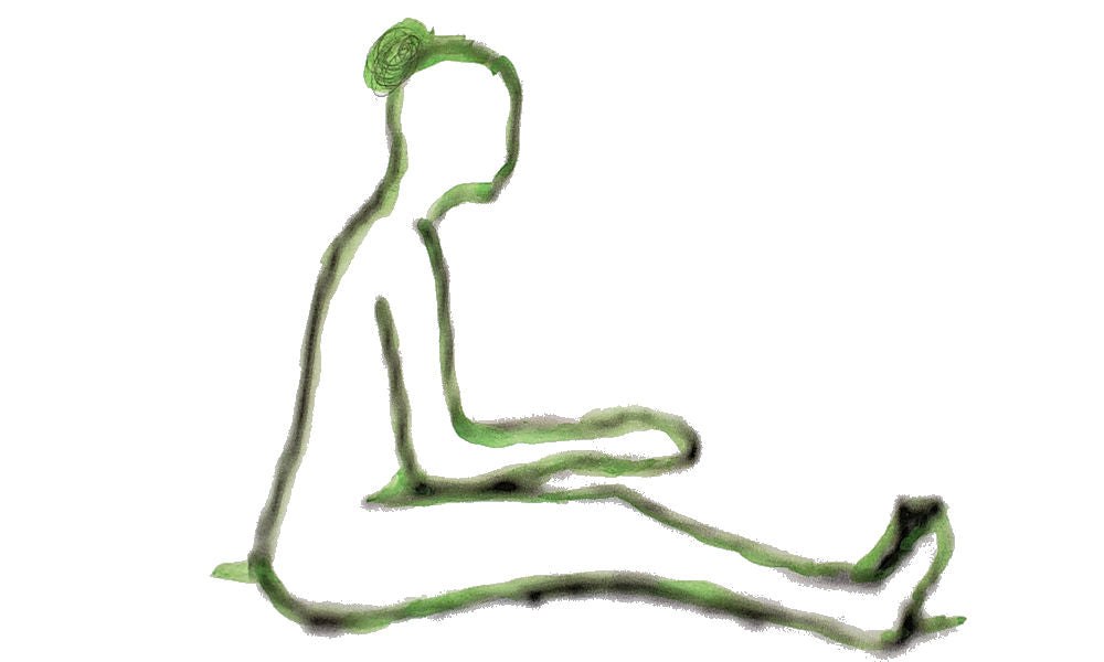long sit position sitting exercise