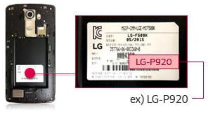 nokia cell phone model number label