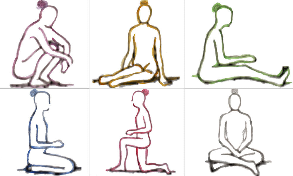 sitting positions for exercise
