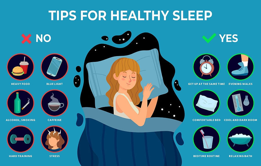 sleep hygiene tips for wellbeing