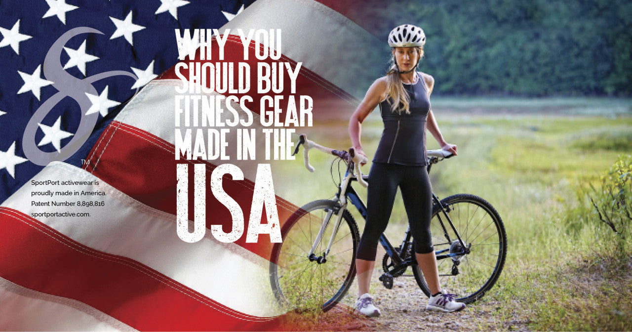 fitness wear made in the USA