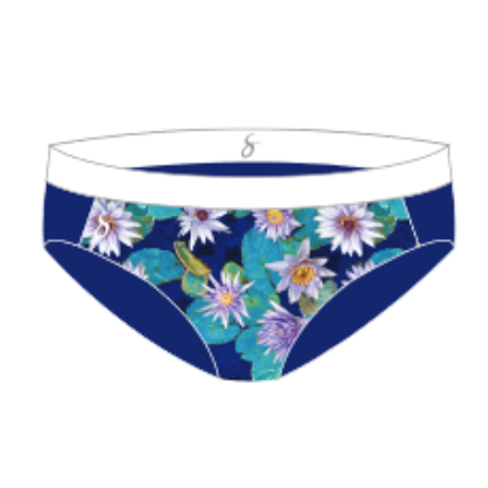 Monet Tri-Sport Swim, Run & Under Sportswear Kini Bottoms - blu/mon