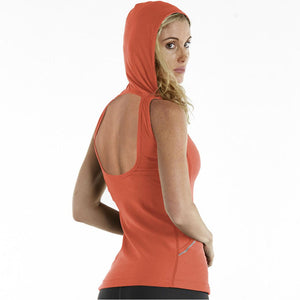 Sleeveless Backless Hoodie Tank Top - orgc