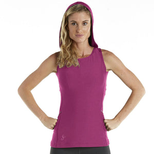 Sleeveless Backless Hoodie Tank Top - pnkb