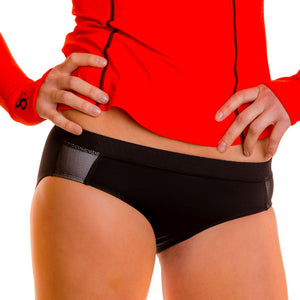 Tri-Sport Swim, Run & Under Sportswear Kini Bottoms - blk/blk