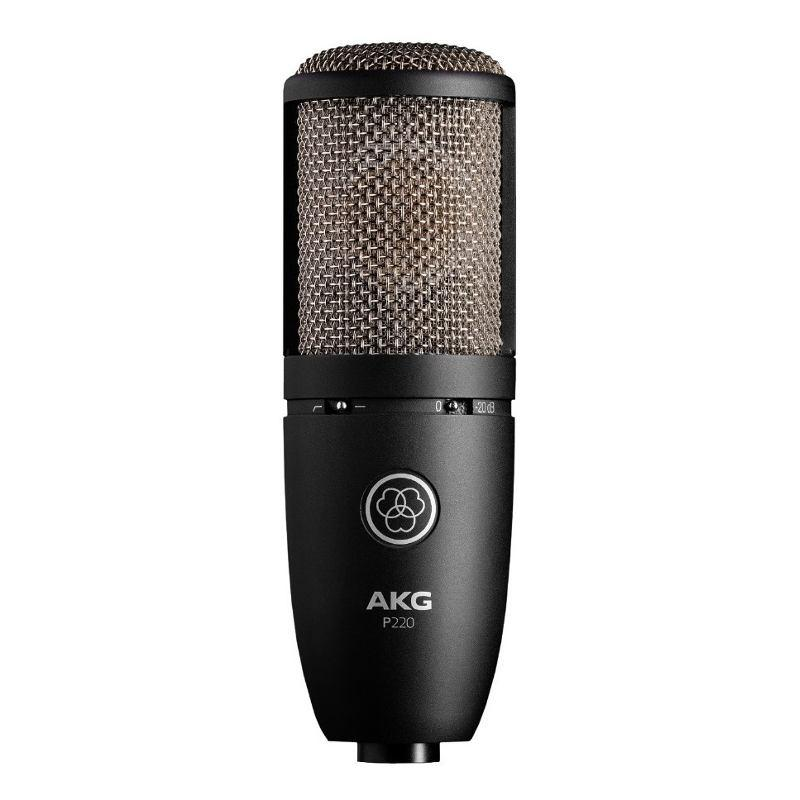 Microfono Condensador Akg Perception 220 Soporte Y Valija-Audio Rocks