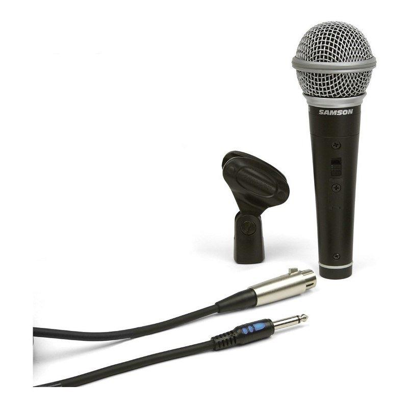 Microfono Vocal Samson R21s Premium Incluye Pipeta Cable-Audio Rocks