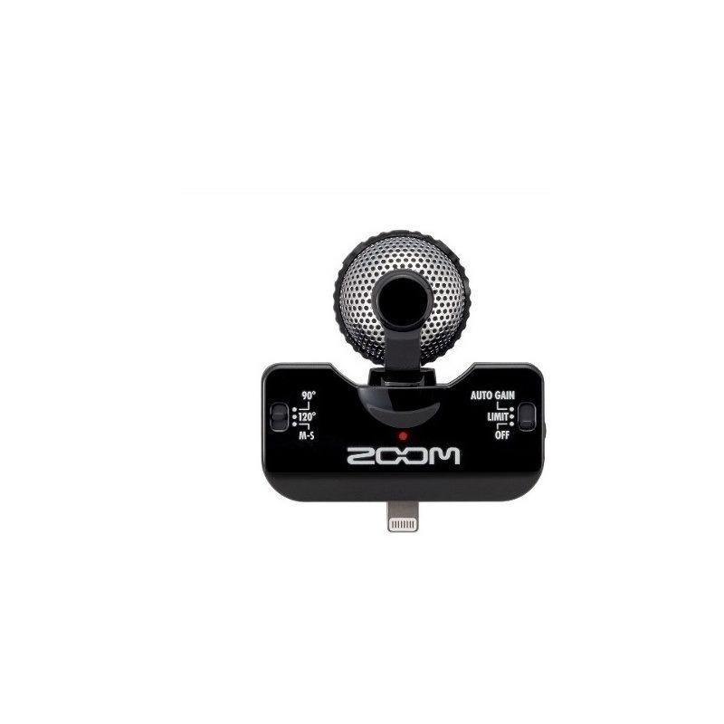 Microfono Profesional Zoom Iq5 B Para Para Dispositivos Moviles-Audio Rocks