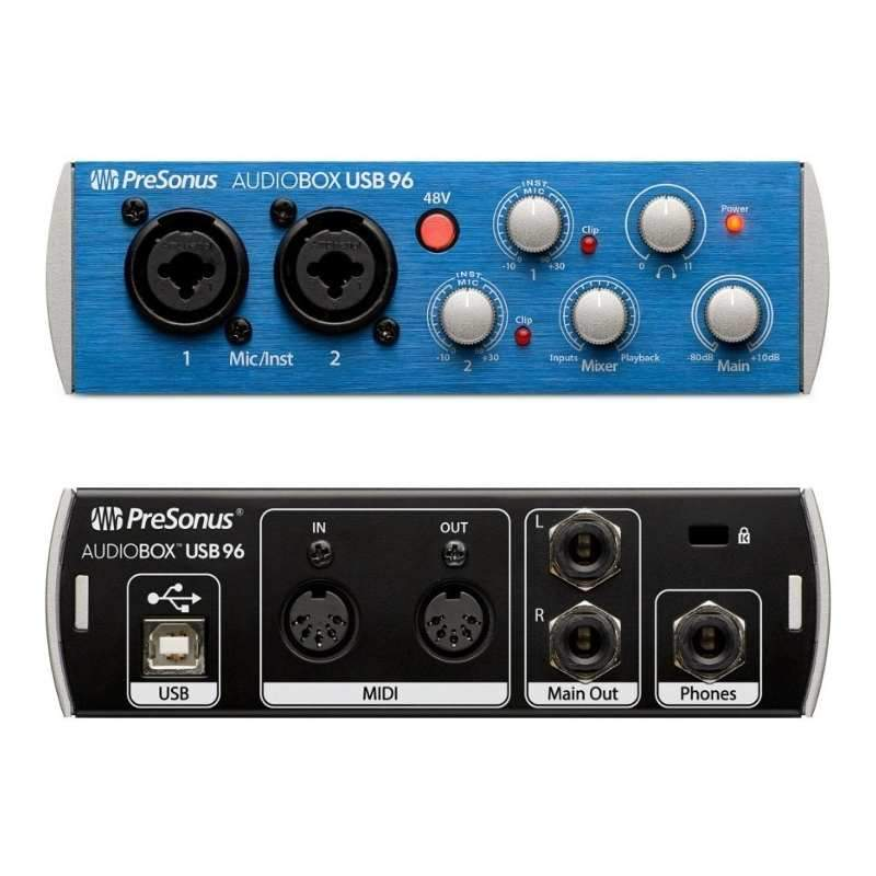 Presonus Audiobox Placa De Sonido Externa 2 Canales Usb 96-Audio Rocks
