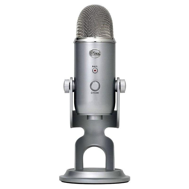 Blue Yeti Pro Studio Microfono Condenser Vocals Drums Guitar-Audio Rocks