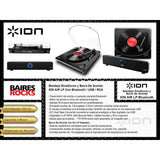 Bandeja Giradiscos Bluetooth Usb Ion Air Lp Con Parlante Ion-Audio Rocks