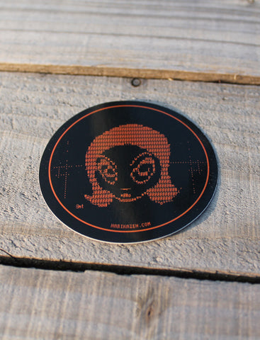 Sophie Sees You <br>ø 70mm Sticker
