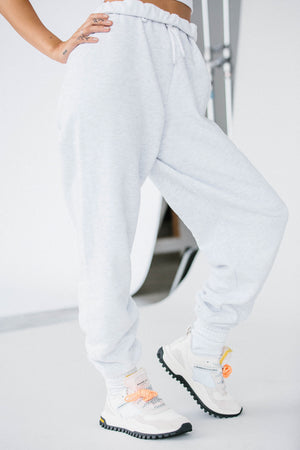 Fitted Cutout Long Sleeve style Oversized Jogger