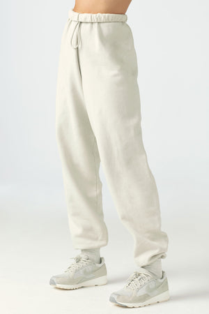 Ultra Cropped Button Down style Oversized Jogger