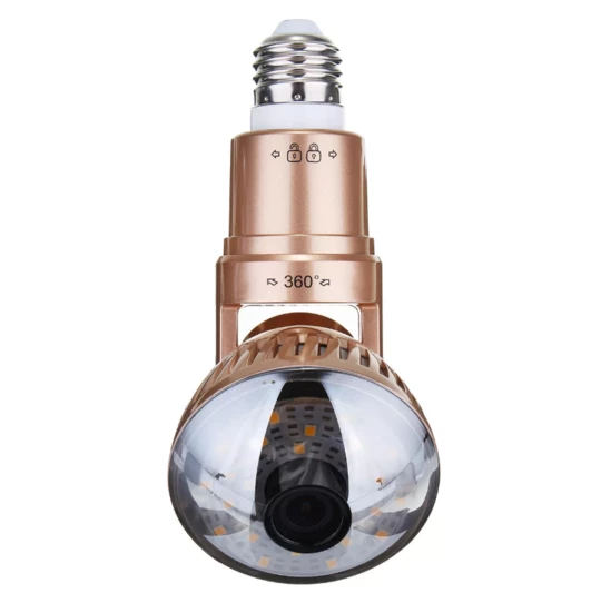 Flexible Lightbulb camera