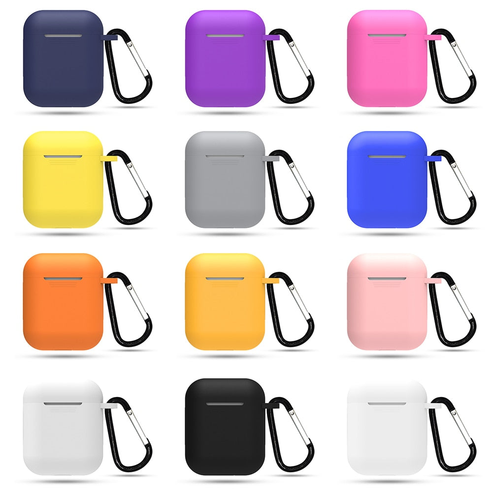 Protective Silicone Cover For Apple AirPods Case