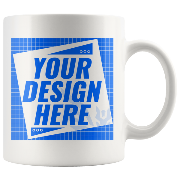 CUSTOMIZER: Upload your own image via MUG (11oz)