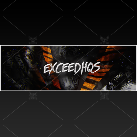 """Tiger"" - Twitter GFX Header for Sale"