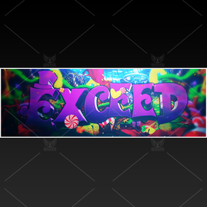"""Wonka"" - Twitter GFX Header for Sale (Can change color)"