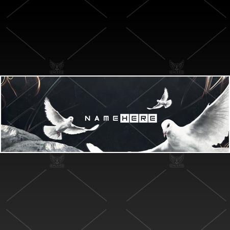 """Doves"" - Twitter GFX Header for Sale"