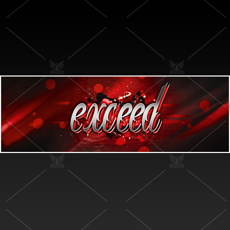 """Elegant"" - Twitter GFX Header for Sale (Can change color)"