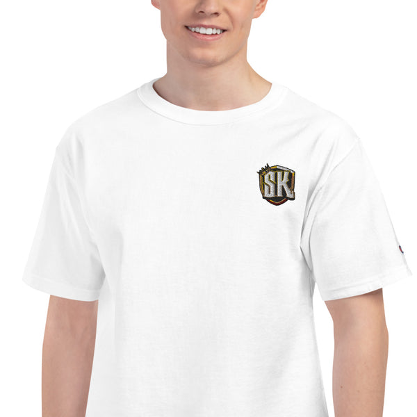 Shady Kingz - Embroidered Champion T-Shirt