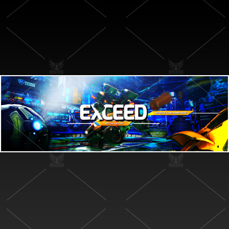 """Rocket"" - Twitter GFX Header for Sale"