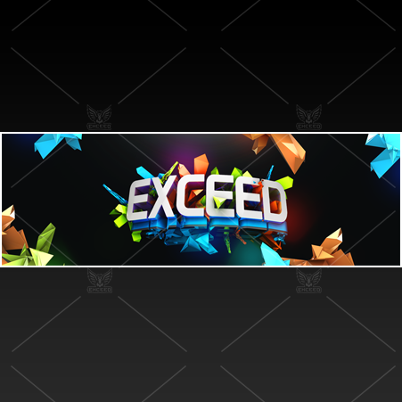 """Vibrant"" - Twitter GFX Header for Sale"