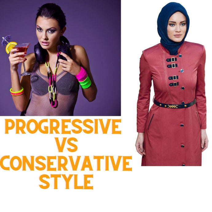 Progressive VS. Conservative Style: What Does it Really Mean