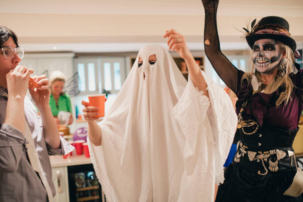 cover image of ghost costume