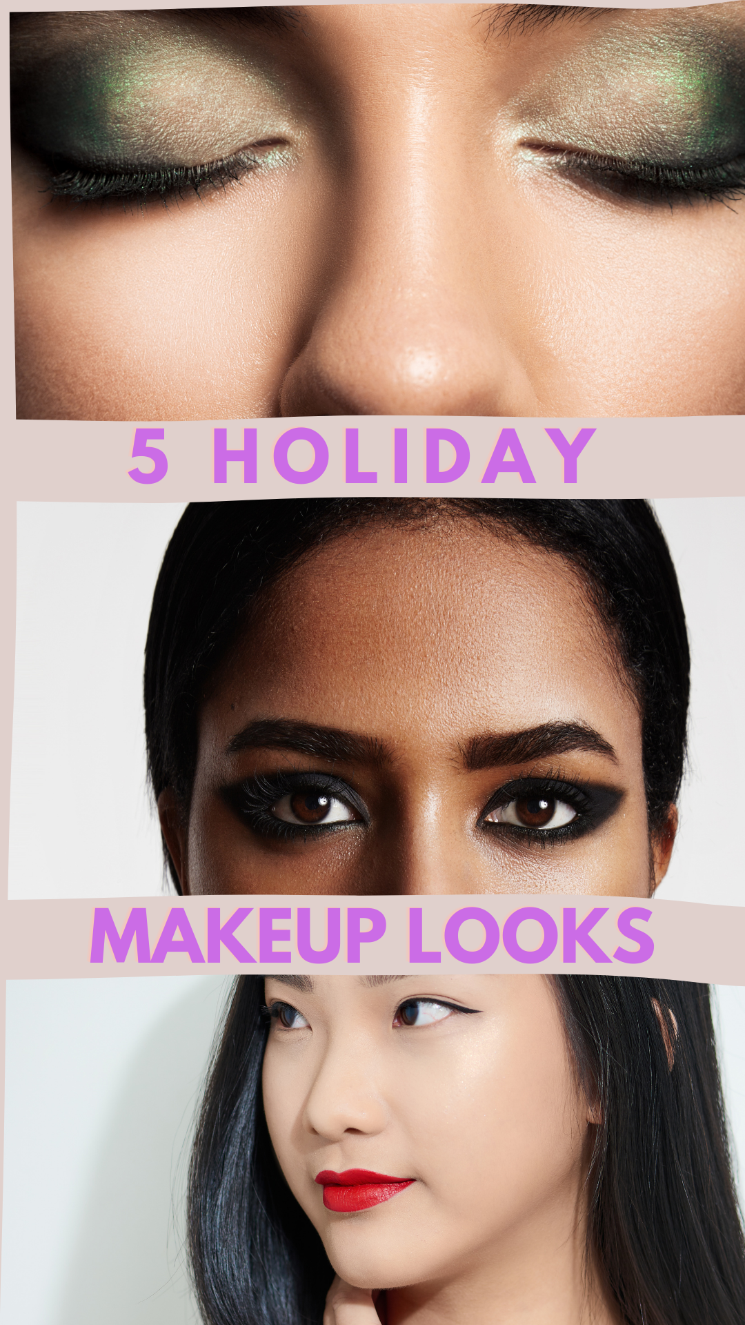 5 holiday makeup looks_ The Guilty Woman