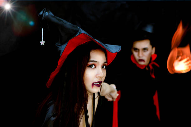how to be a vampire for Halloween
