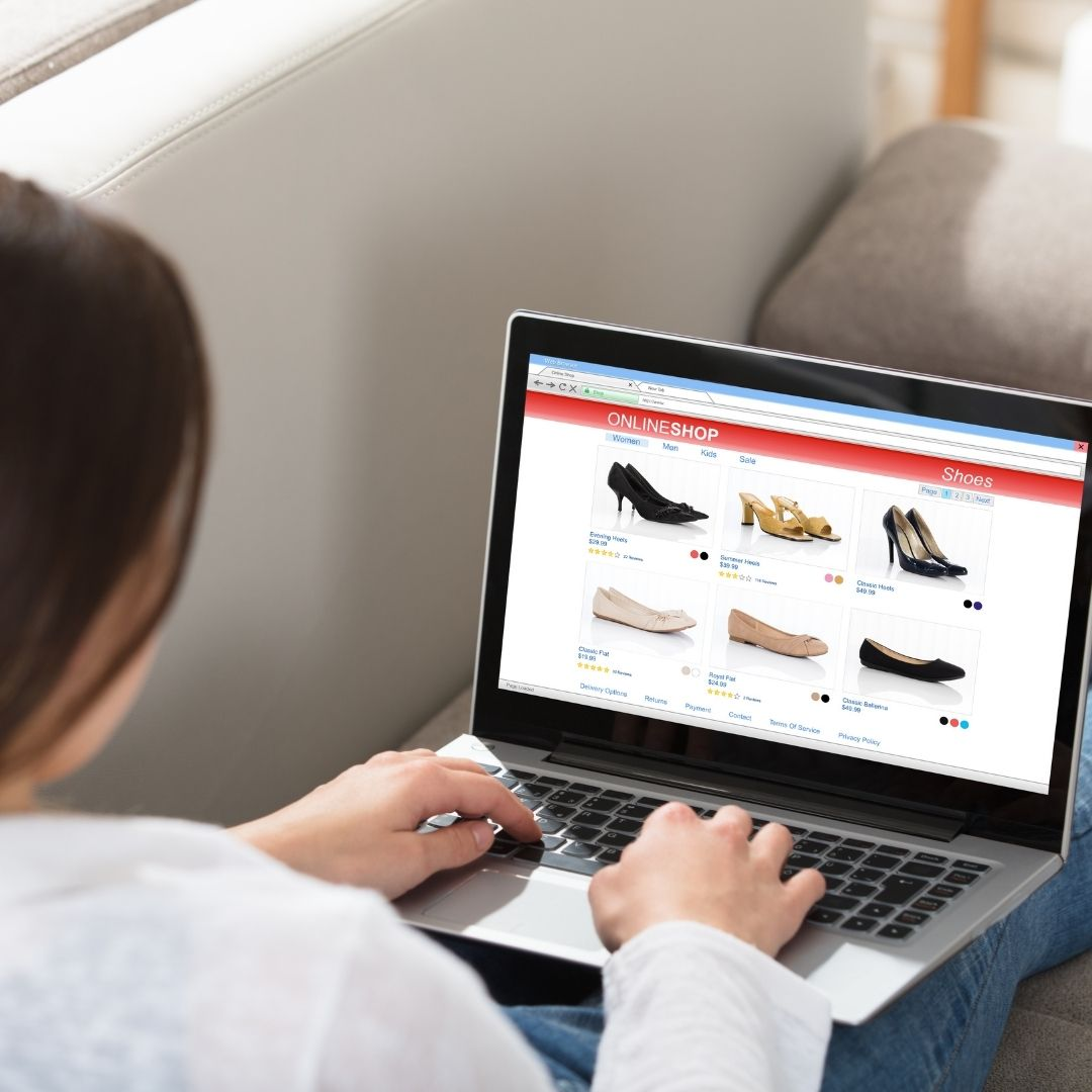 woman online shopping_ The Guilty Woman