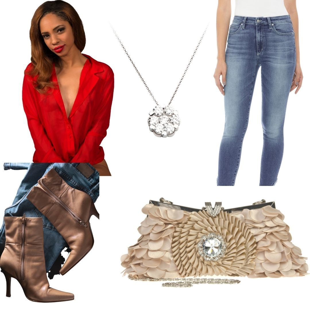 woman's blouse and jeans_ The Guilty Woman