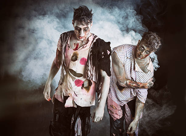 easy zombie costume for Halloween