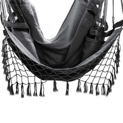 Gardeon Hammock Swing Chair - Grey