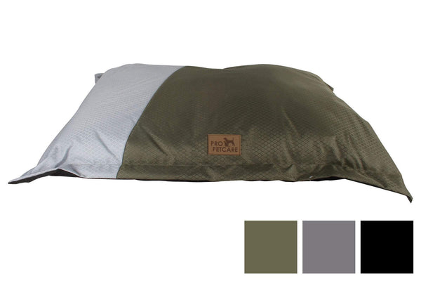Pillow Pet Bed Two Tone 600D With Non Skid 69X91Cm 3 Asstd