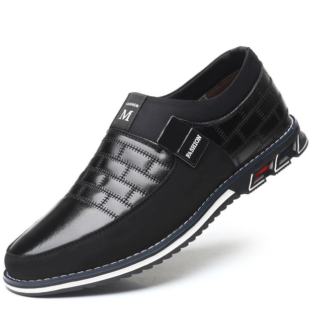Men Leather Casual Shoe - DiS-Lyne