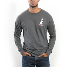Load image into Gallery viewer, Pilsner X Champion PIL Bunny Long Sleeve T-Shirt