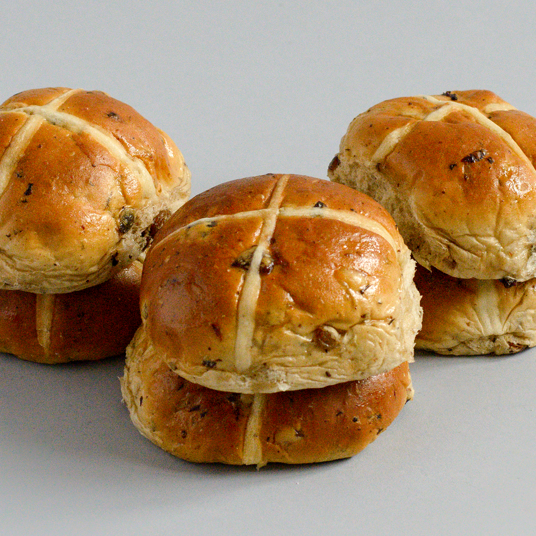 Hot X Buns (Pack of 4)