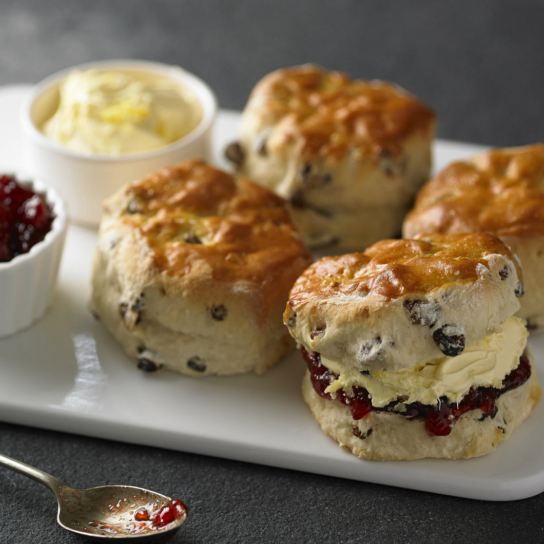 'Cornwall To Hertfordshire' Cream Tea